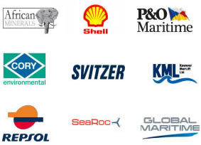 Some of our Clients, Shell, Respol, P&O Maritime...